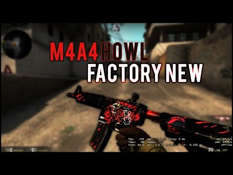 CSGO - M4A4 Howl!!! (Factory New) Weapon Showcase And Gameplay