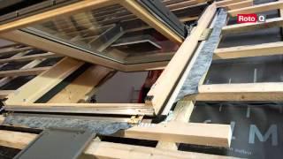 видео Мансардное окно Roto Designo R85 ПВХ