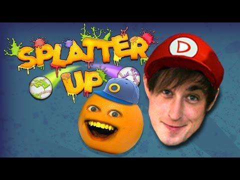 Annoying Orange Splatter Up w/ DANEBOE!