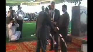 Sadiq Public School, Saud Shahab Rehmani Taking Award on Founders Day 2010.mp4
