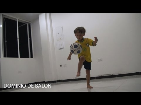 4 years old colombia youth Soccer talent  Santiago Alvarez