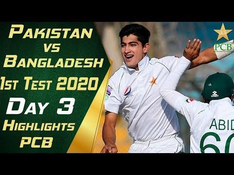 Pakistan Vs Bangladesh 2020 | Short Highlights Day 3 | 1st Test Match | PCB