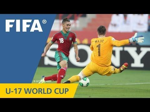 Moroccans round Croatians