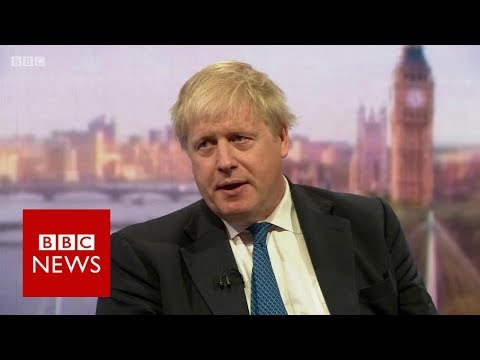 Boris Johnson on Syria air strikes: Action showed enough is enough - BBC News