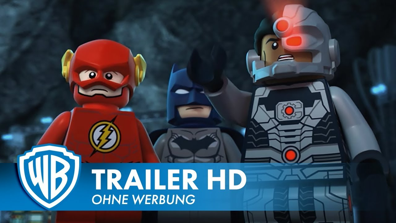 LEGO DC SUPER HEROES - JUSTICE LEAGUE COMIC CLASH - Trailer Deutsch HD German
