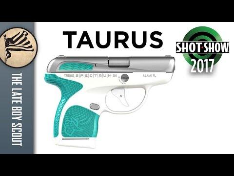 Taurus Spectrum .380 - Color Me Impressed: SHOT Show 2017