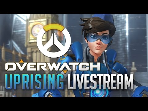 Overwatch Uprising Livestream With Lootbox Opening