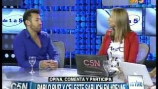 C5N - DE1A5: LA VISITA DE PABLITO RUIZ Y CELESTE SABLICH