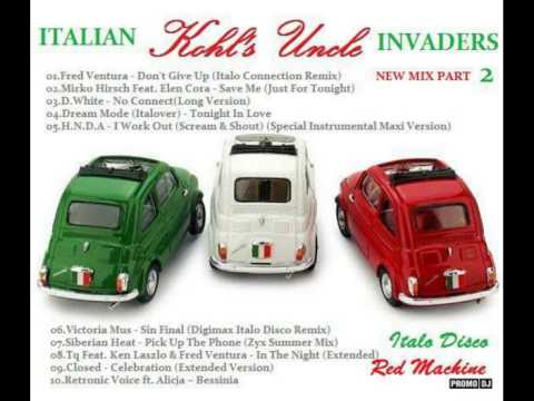 Italian Invaders New Mix 2014 Red Machine Version