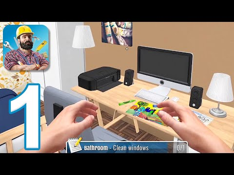 House Flipper Mobile  Gameplay Walkthrough Part 1  Tutorial (iOS, Android)