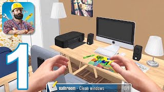 House Flipper Mobile - Gameplay Walkthrough Part 1 - Tutorial (iOS, Android)