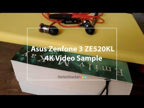 Asus Zenfone 3 ZE520KL 4K Video Sample