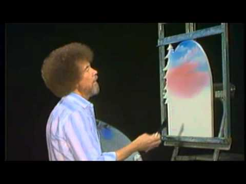 Bob Ross Quotes: A Happy Little Mountain - YouTube