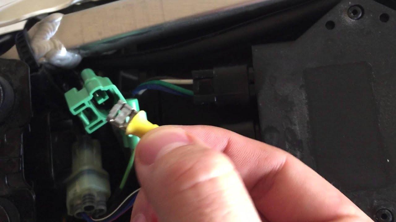Drz Kickstand Sensor Bypass   No Wire Cutting Or Splicing