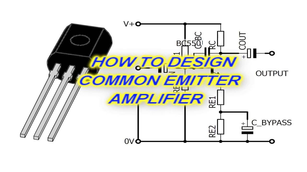 Design A Common Emitter Amplifier Youtube Transistor Circuit