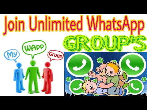 Join Unlimited whatsapp group | Groups for WhatsApp [ HTS 2017 ]