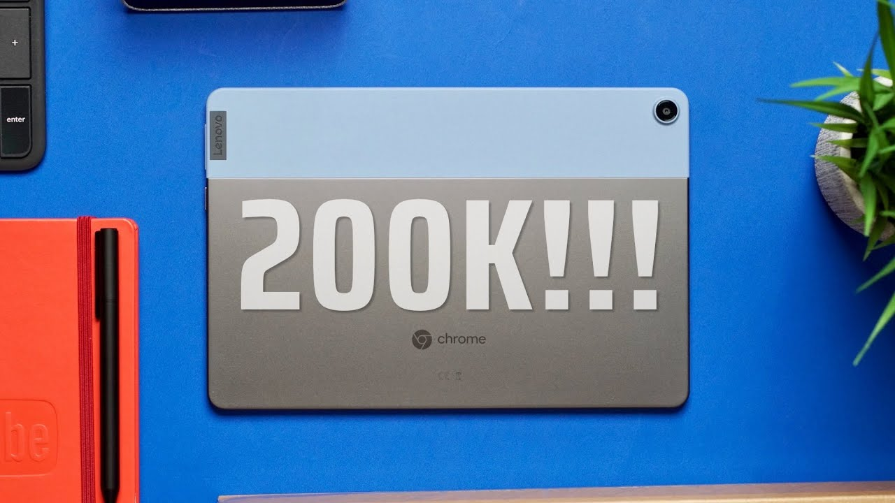 We Did It! 200,000 Subscribers