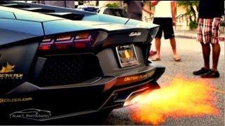 Download lagu Lamborghini Aventador SHOOTING FLAMES! HUGE REVS and Loud IPE Innotech Exhaust Gold Rush Rally 5