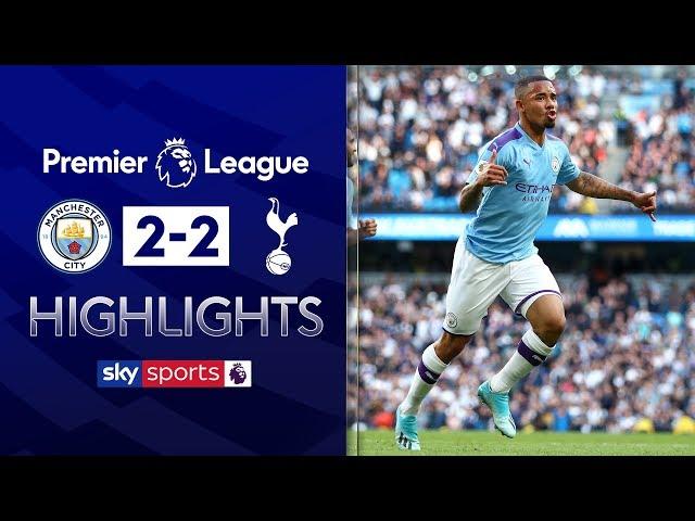 HIGHLIGHTS | Man City 2-2 Tottenham | Premier League | 17th August 2019