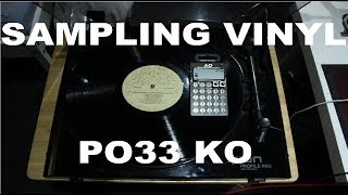 Sampling Vinyl - PO33 KO - Old School Hip Hop Beat