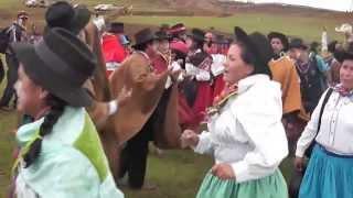 CARNAVAL EN PANPAMARCA CON LOS CAMPEONES DE VILCAS HUAMAN