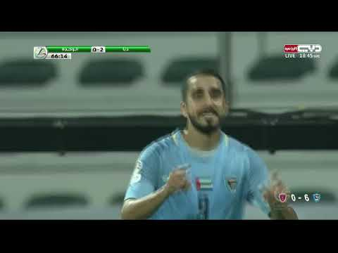 أهداف مباراة الوحدة x دبا الفجيرة (0-6) في دور الـ16 من بطولة كأس صاحب السمو رئيس الدولة 2018-2019