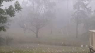 Massive hail storm hits Brisbane