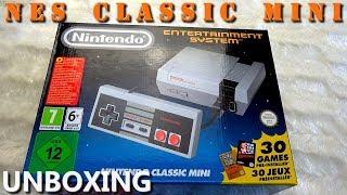 NES Classic Mini - Unboxing PL | Rozpakowanie i prezentacja Nintendo Classic Mini: NES