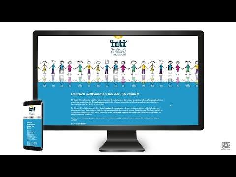 Neue Webseite für die INTI GmbH im responsive Webdesign