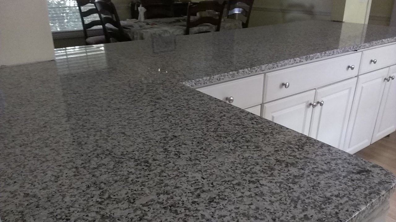 Granite Counter Installation   YouTube