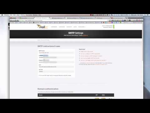 How to find SMTP address to use your domain name with Gmail to send email (alternative + Godaddy)