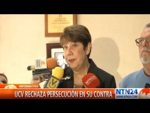 """UCV se declara en """"resistencia"""" ante el Gobierno de Maduro"""