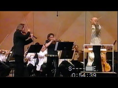 """Mark O'Connor, Salerno Sonnenberg, Chicago Symphony, Eschenbach, """"Double Violin Concerto"""""""