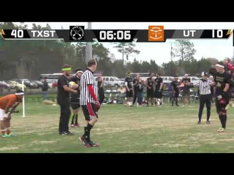 Quidditch World Cup 2014  Final  Texas State Quidditch vs. University of Texas