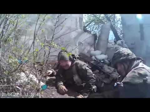 Видео реального боя