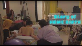 HOME BIRTH - HI MAHIJAS BIRTH STORY