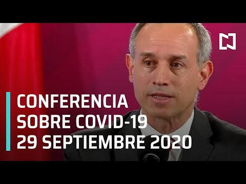 Conferencia Covid-19 en México - 29 septiembre 2020