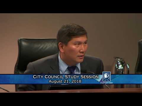 Cupertino City Council Meeting - August 21, 2018