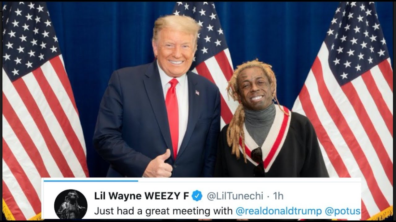 'Rappers are Republicans?!?!': Lil Wayne's meeting with Donald ...