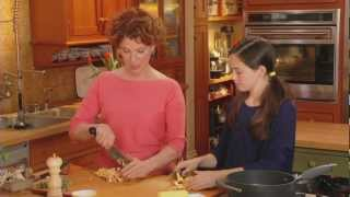 Joanne Wier cooking with Prosciutto di Parma