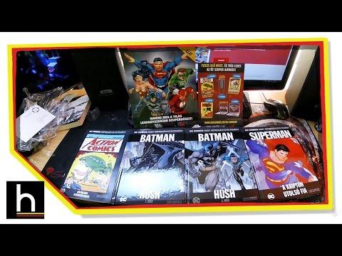 DC Comics képregénygyűjtemény #01