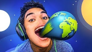 COMI UM PLANETA INTEIRO !! - Tasty Planets