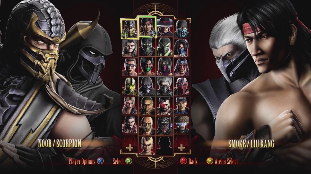 mortal kombat xbox 360 gameplay