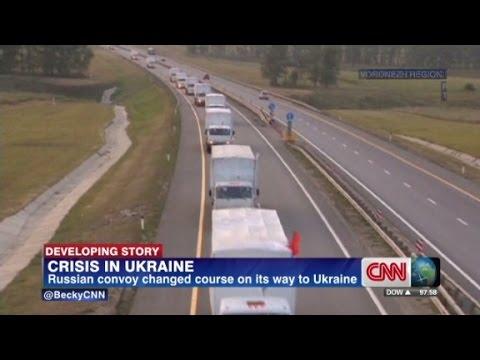 Ukraine turns back Russian convoy at border