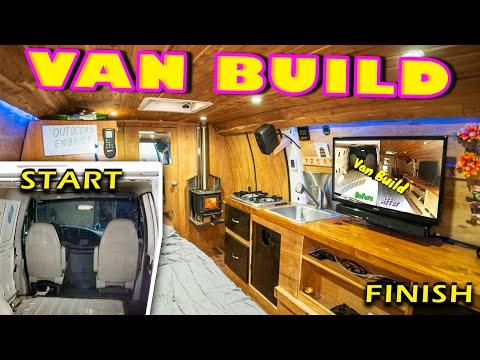 Van Life Build Tour | DIY Stealth Van Conversion Start to Finish (2019)