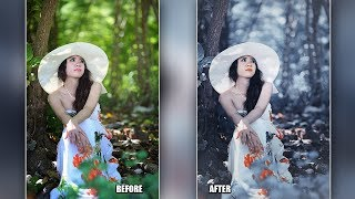 How To Make False Color Effect In Photoshop CC Tutorial