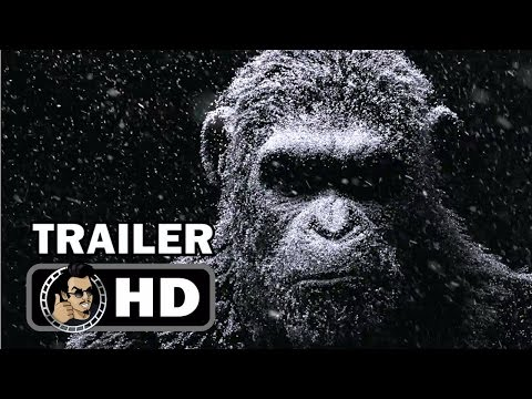 WAR FOR THE PLANET OF THE APES Digital Billboard Teaser (2017) Andy Serkis Sci-Fi Movie HD