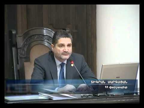 Armenian Prime Minister Slams Ministries For Corruption, Mismanagement