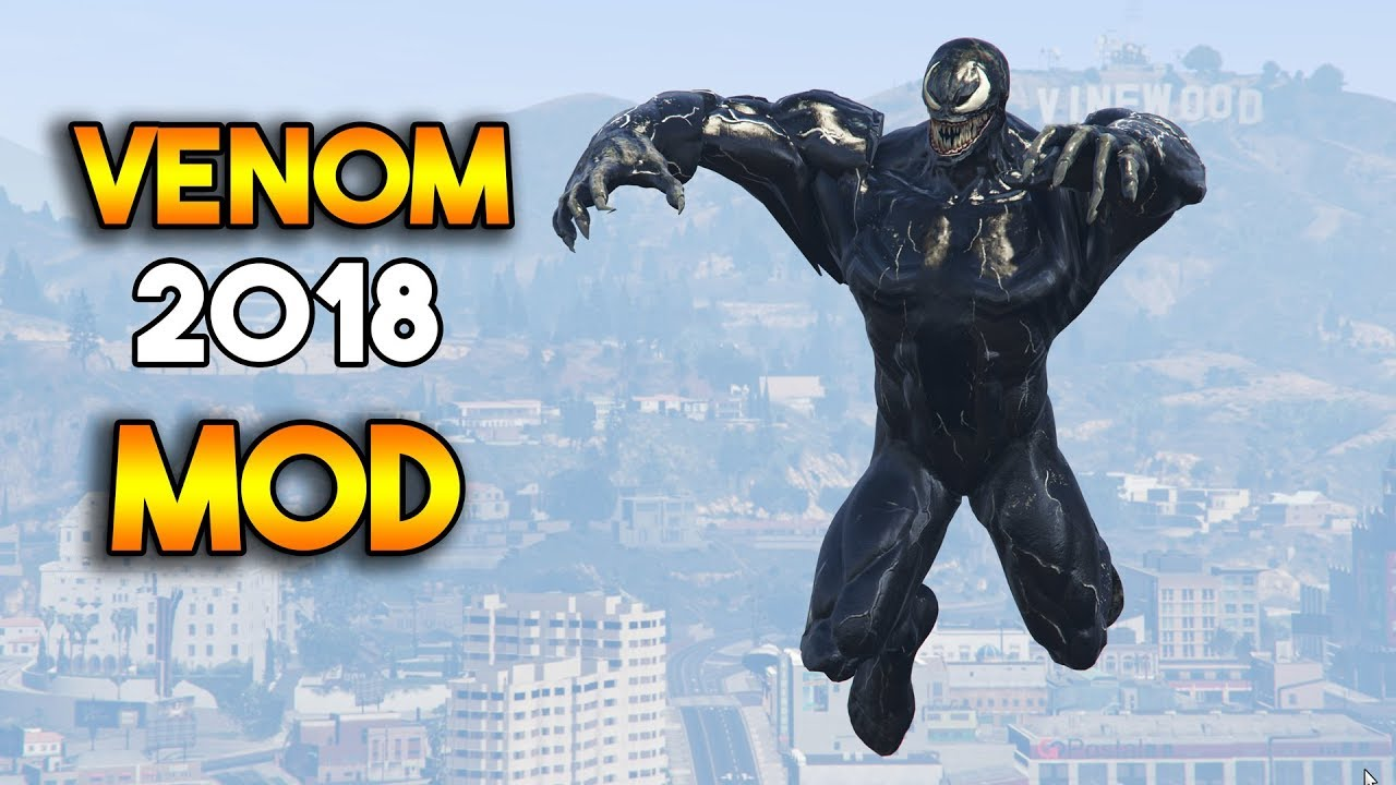 GTA 5 : VENOM MOD 2018 (GAMEPLAY)