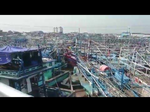 Kasihan...Lebih Dari 70% Kapal Tidak Melaut Di Pelabuhan Muara Baru Jakarta.